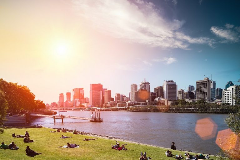 morning sky in australia