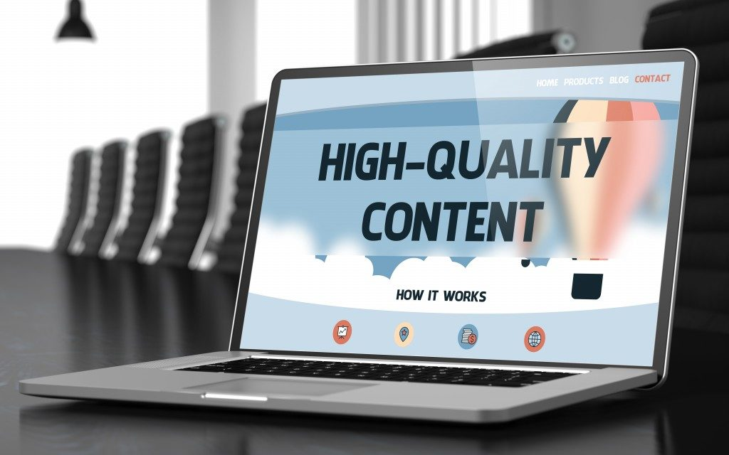 Online content for SEO