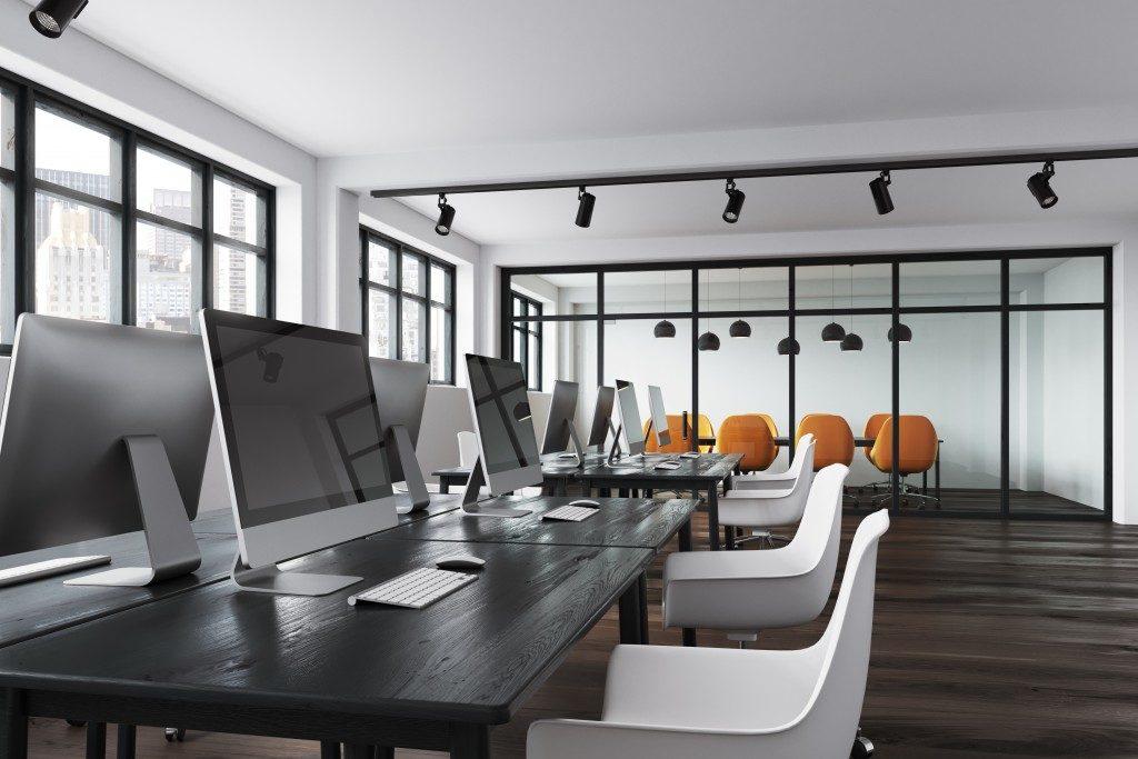 empty open office space
