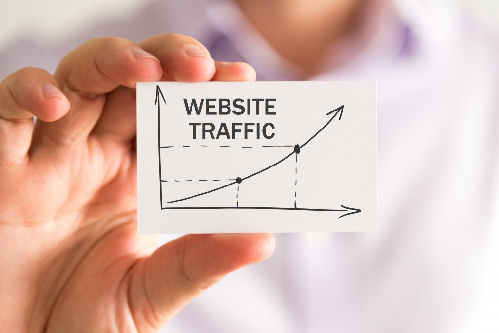 business website traffic