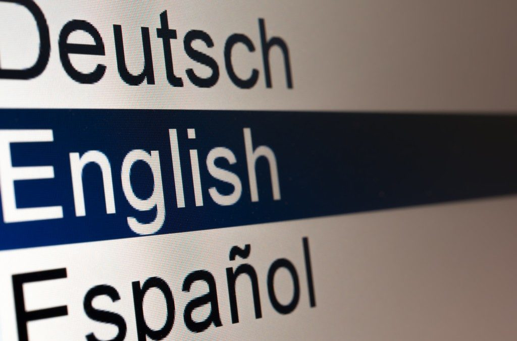 choosing a language