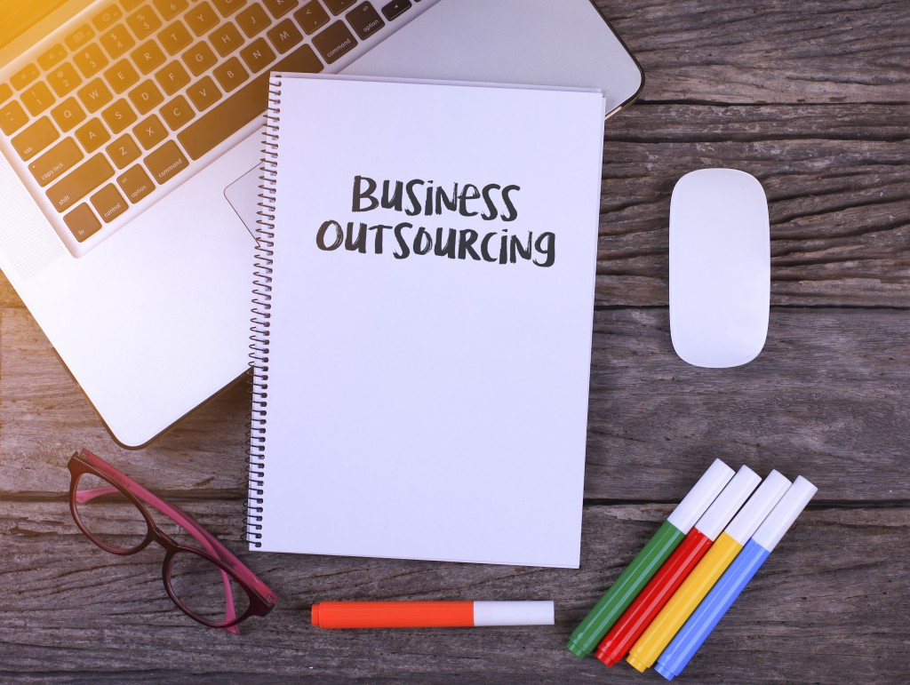 business outsourcing concept