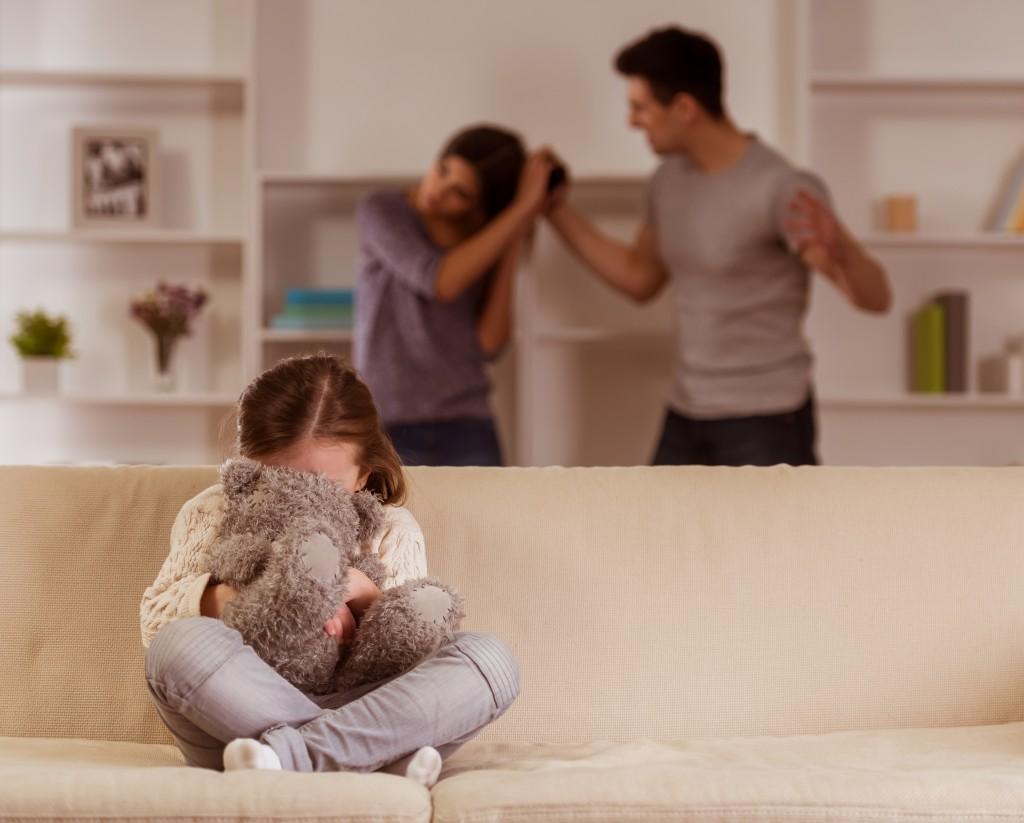 domestic abuse concept