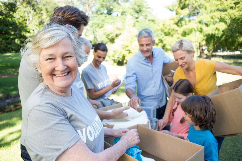 community volunteer concept